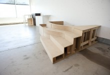 THE LIBRARY PROJECT: FABRICATION